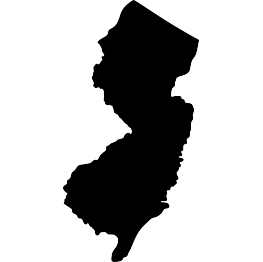 New Jersey Silhouette